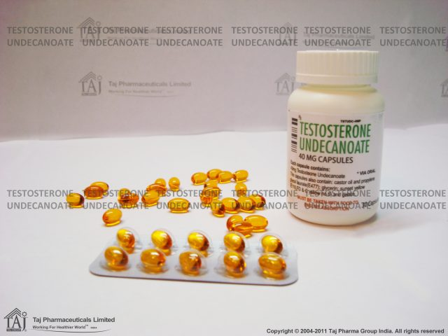 TESTOSTERONE UNDECANEATE 40 MG CAPSULE – REPLACEMENT THERAPY IN MALE HYPOGONAD